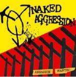 NAKED AGGRESSION / DIE SCHWARZEN SCHAFE - Split LP